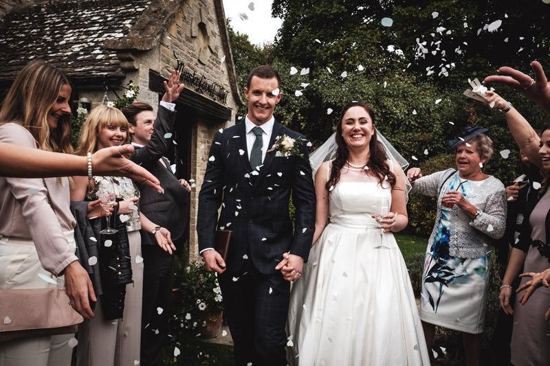 minster lovell wedding confetti line