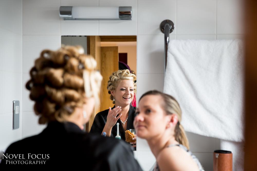 bibury wedding bridal preparation