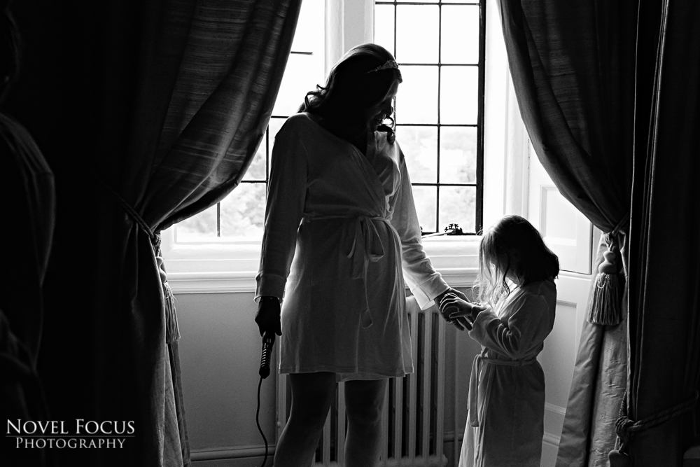 bridal preparation at clearwell castle