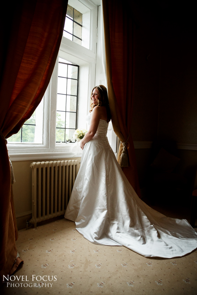 bride wedding photograph clearwell castle