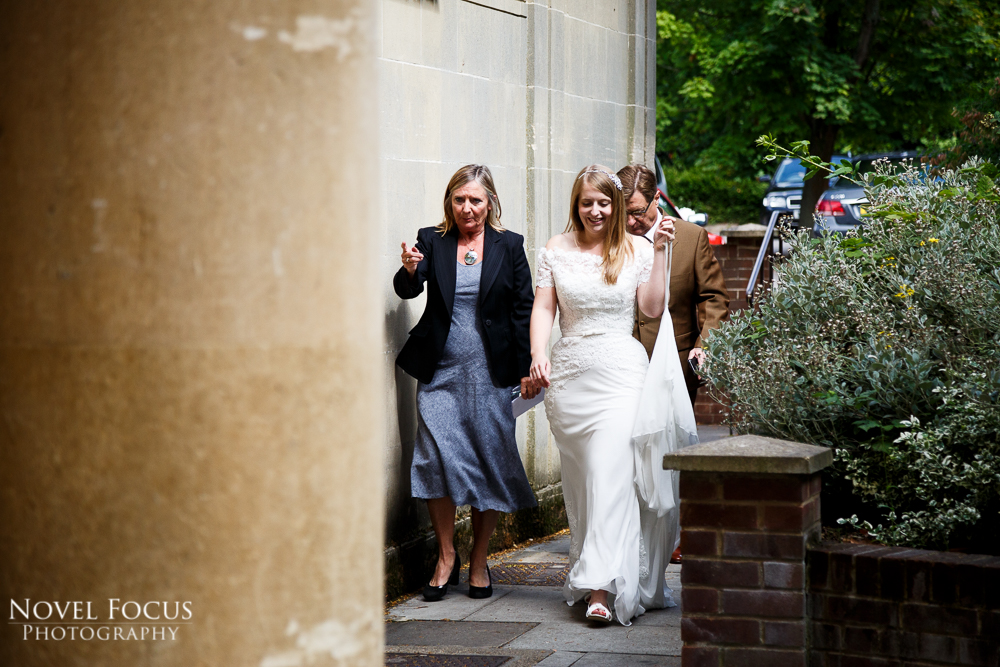 bride at pittville pump room in cheltenham gloucestershire