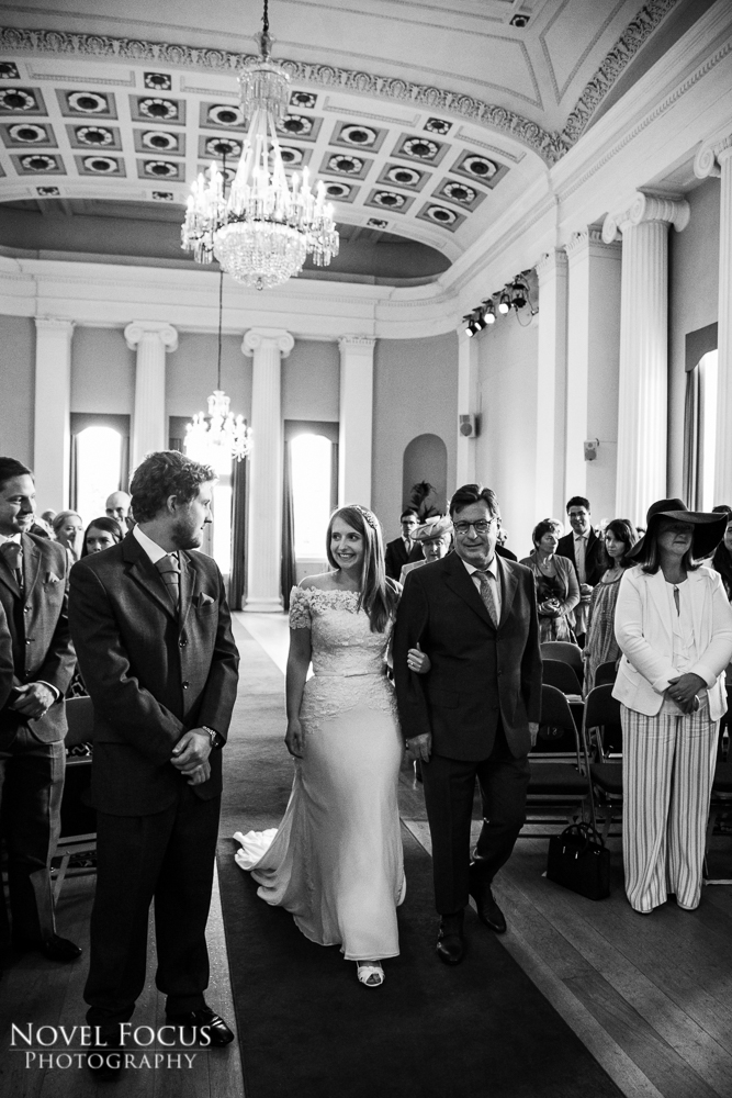 processional pittville pump room wedding photographs