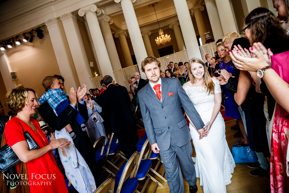 recessional pittville pump room wedding photography