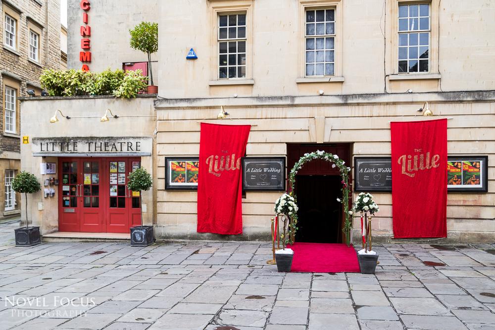 little theatre in bath wedding
