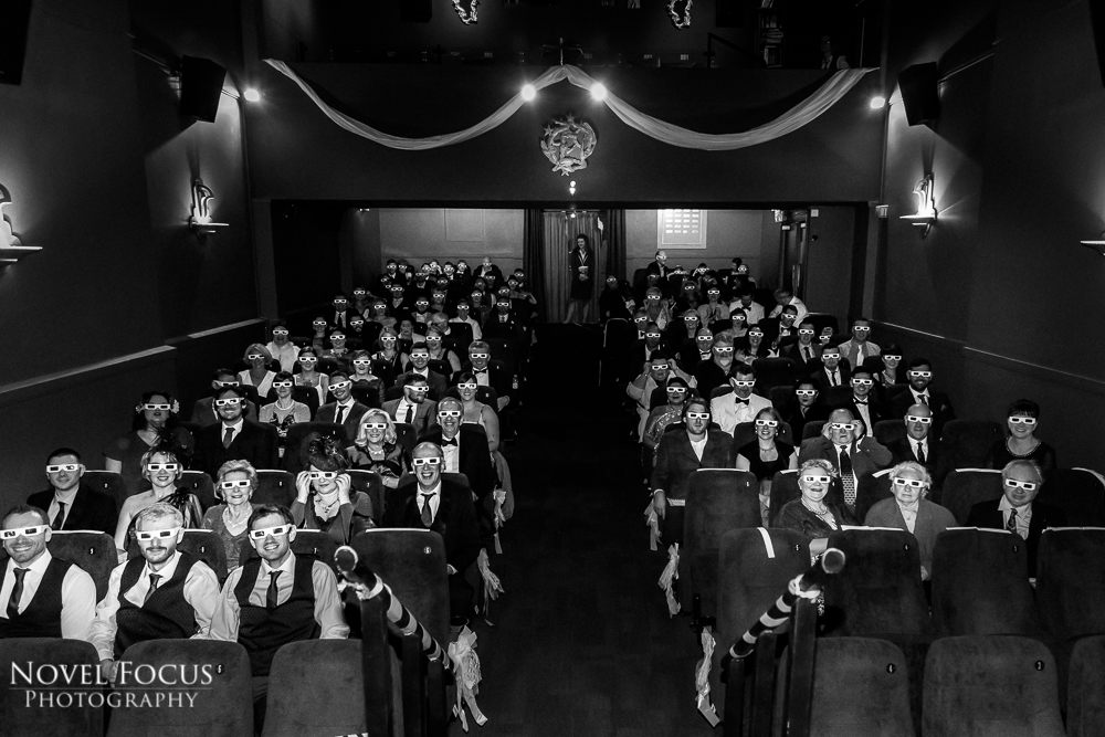 3d glasses for wedding ceremony little theatre in bath