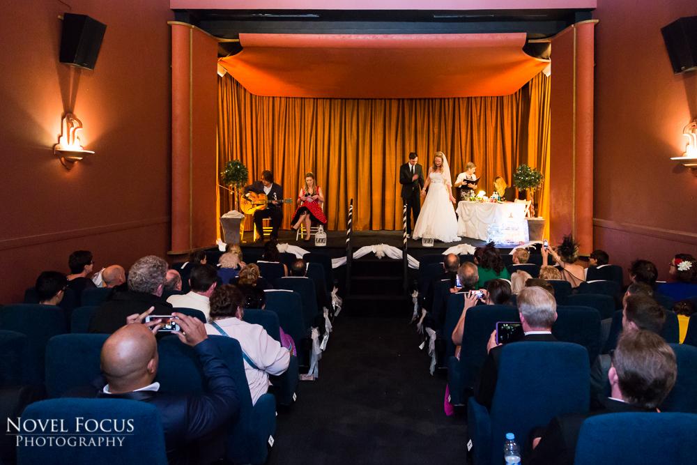little theatre wedding ceremony bath