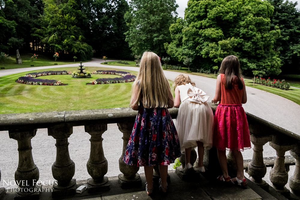 wedding reception at clearwell castle