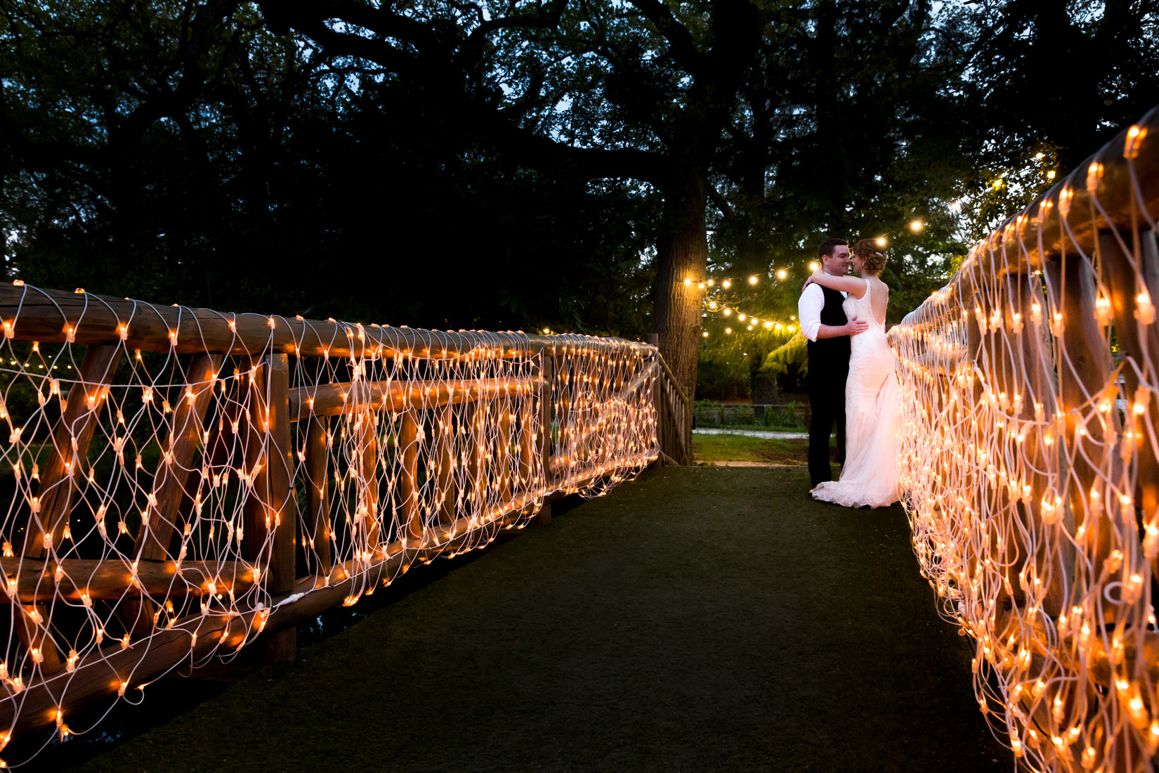 bridge from manor by the lake in cheltenham wedding