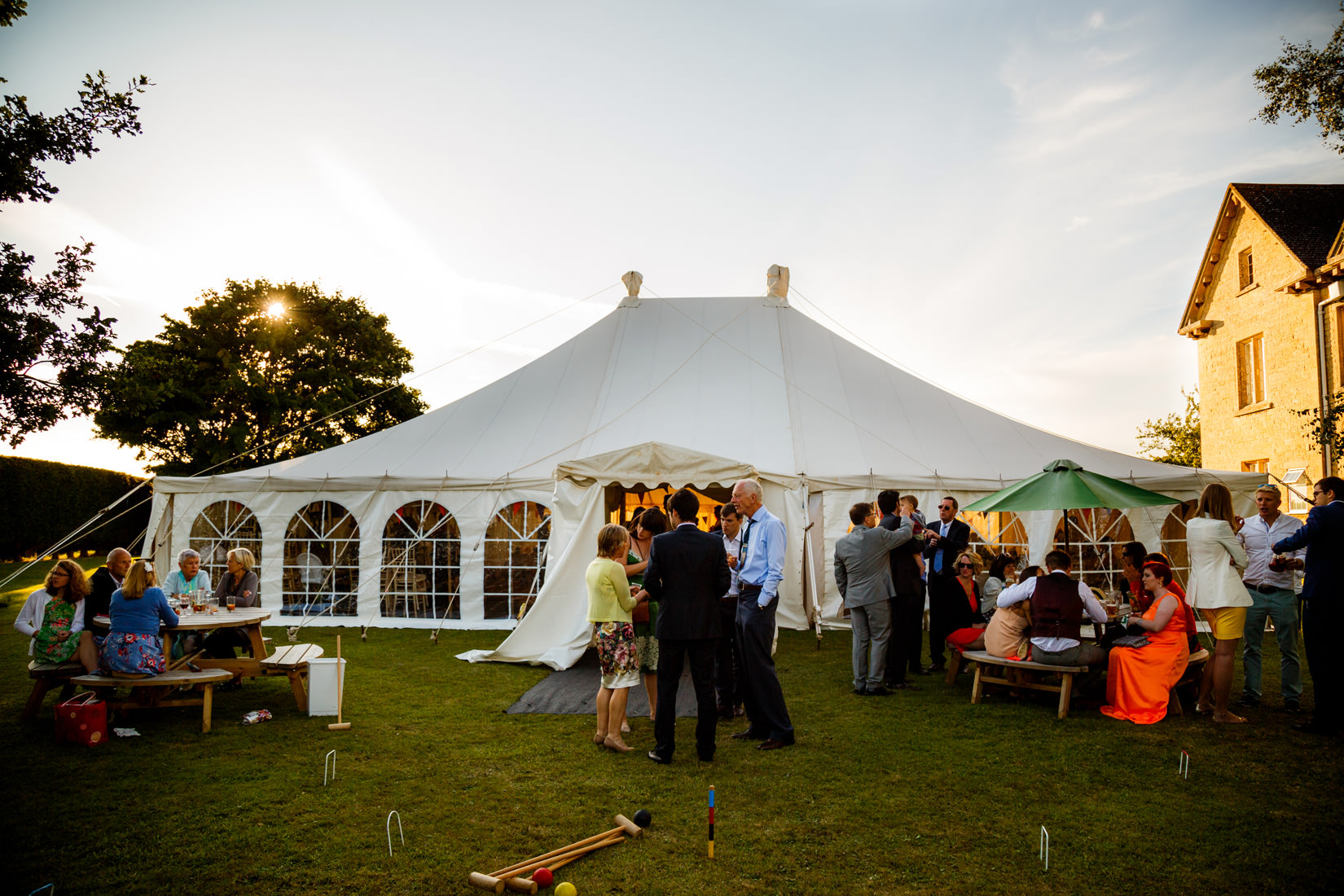 wedding at the moretons in gloucestershire