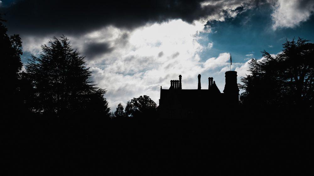 wedding photography silhouette in cheltenham