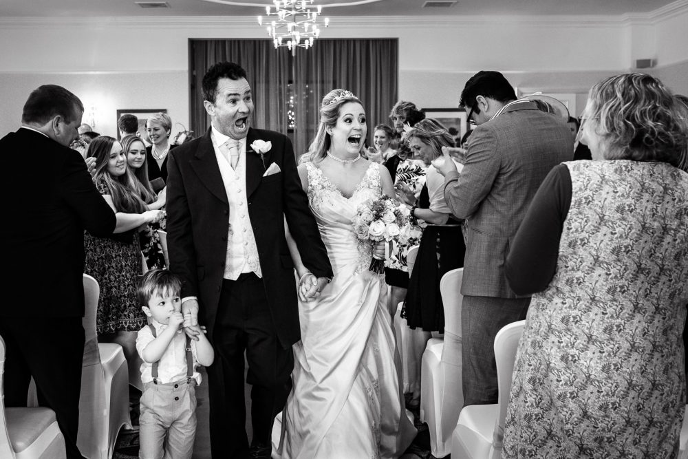 tewkesbury hilton wedding photography ceremony