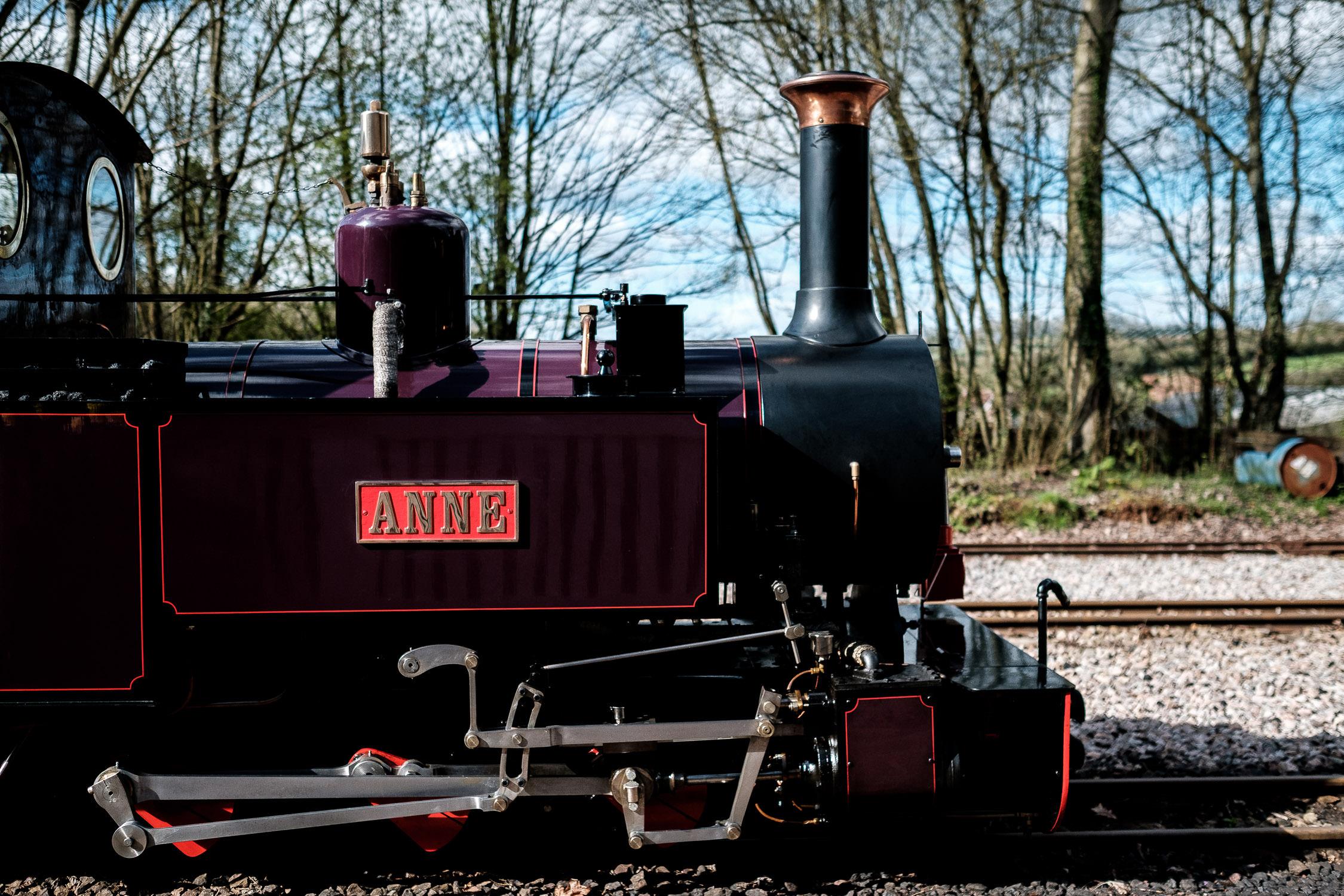 perrygrove railway steam train
