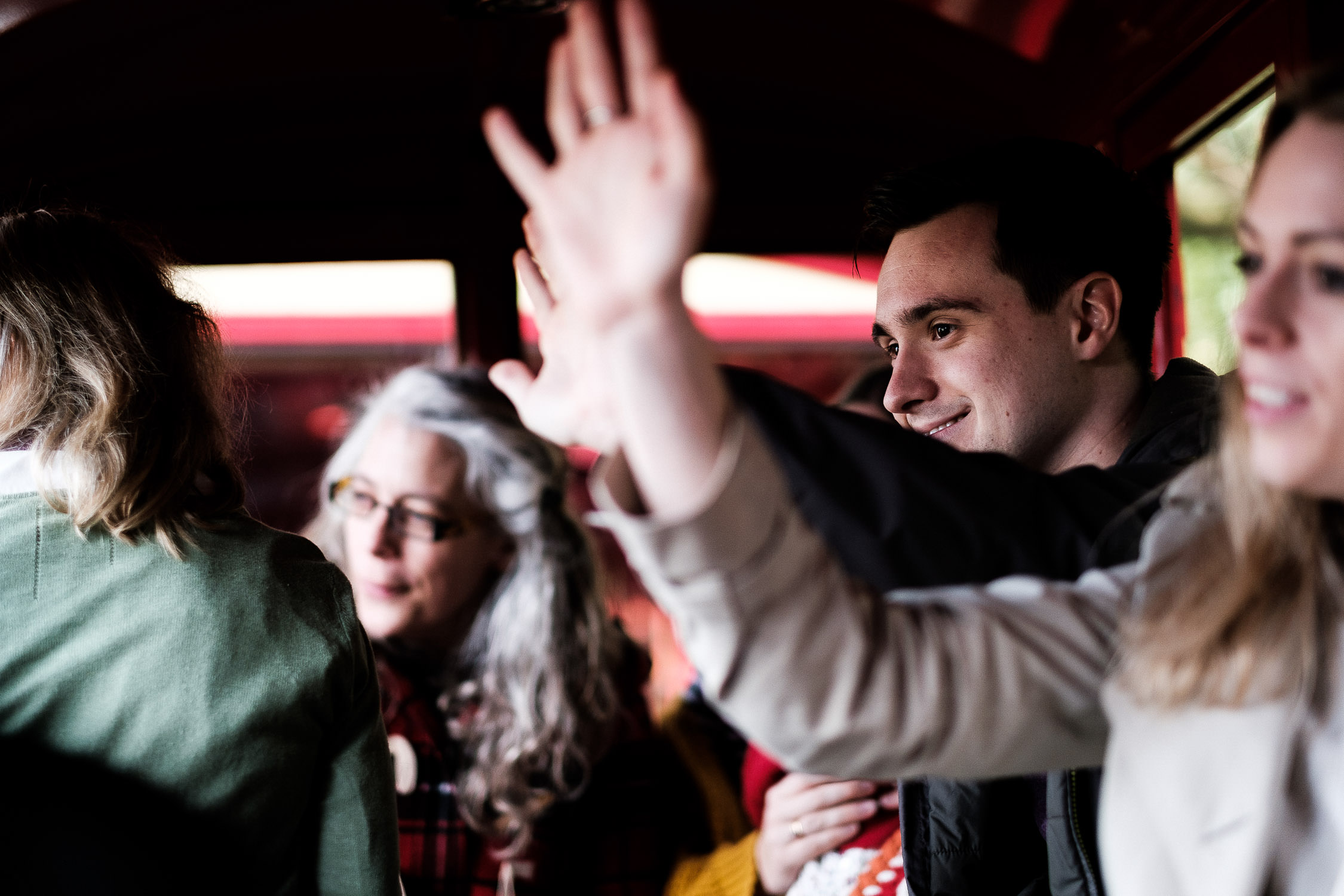 dad waving