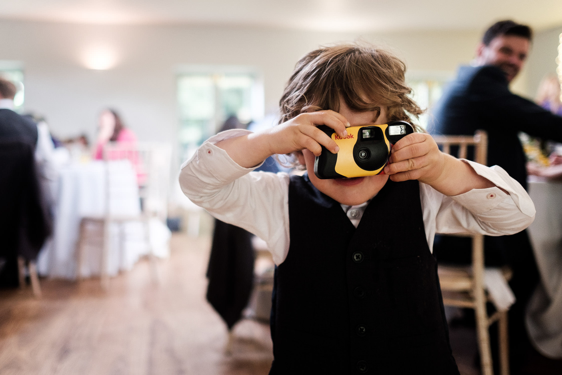 disposable camera wedding