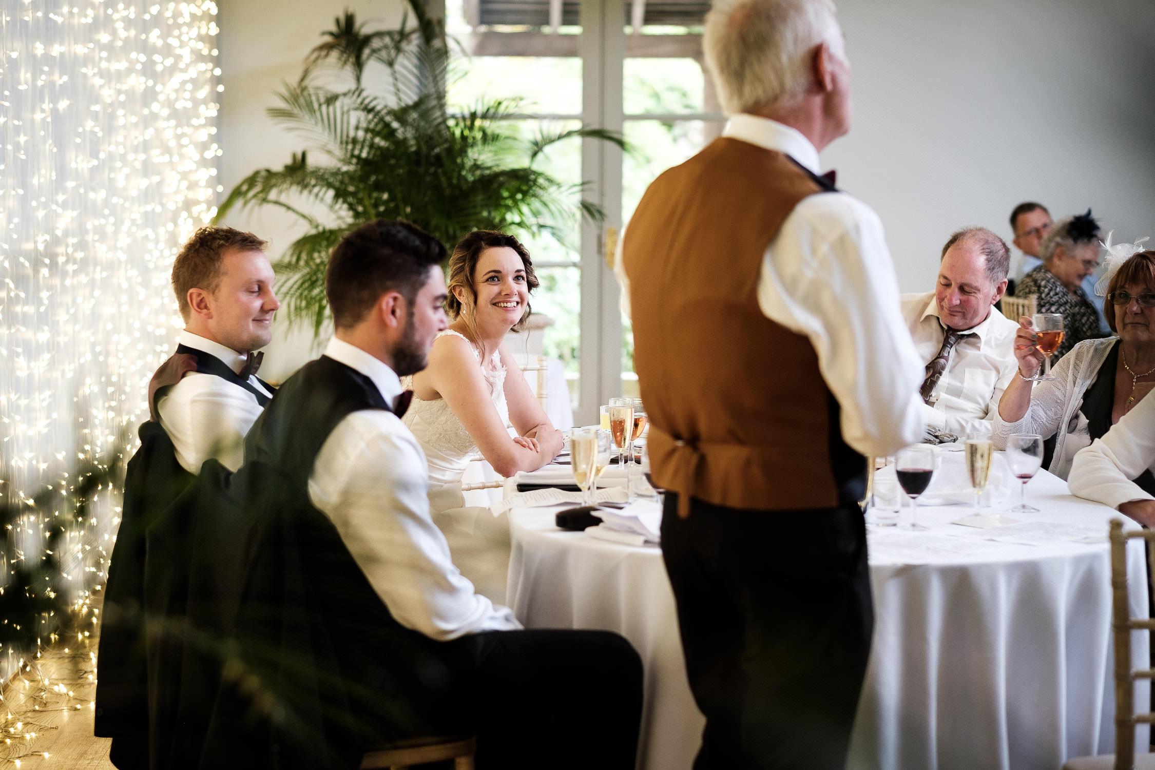 speeches after wedding breakfast